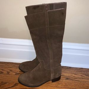 Torrid Brown Suede Riding Boots size 7